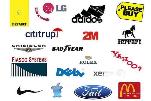 10 Funny Re-Imaginings of  10 Funny Company Logos