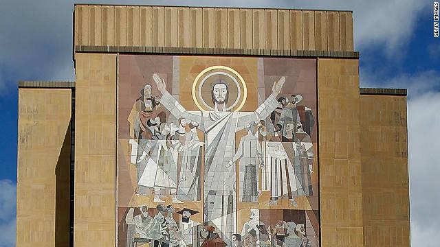 Notre Dame Wall Art the 25 most impressive university murals