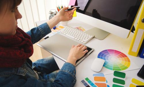start a graphic design business
